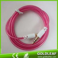 2017 hot selling colorful audio cable