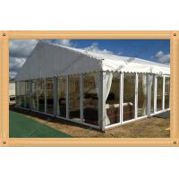 Buy cheap Outdoor cheap wedding marquee party tent with solid glass wall and glass door product
