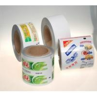 Buy cheap Glossy / Matte Oil Printing Laminate Web For Shoeshine / Food Packaging With 910mm Width product