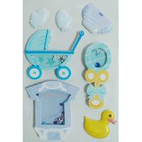 printed Paper Shaker Sticker with Accessories Rubber Duck design OEM / ODM