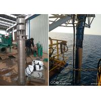 Buy cheap Sea Water Deep Well Submersible Pump 75kw 100hp SS316L Material 60m Head product