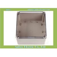 Buy cheap Ip66 200*200*130mm Clear Lid Enclosures Junction Box product