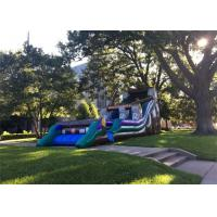 Buy cheap Playground Duable Blow Up Slippery Slide Outdoor Exciting High Safety For Auatic Park product