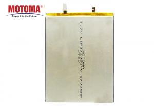 Buy cheap MOTOMA Ultra Thin 3.7 V 6000mah Tablet Battery Long Cycle Life product
