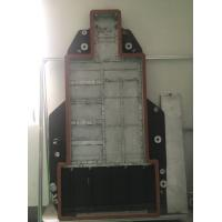 Buy cheap Brazed Aluminum cold plate for Electronic Bus Cooling solution product