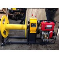 Buy cheap Cable Pulling Winch / Diesel Cable Winch For Cable Pulling During Tower Erection product