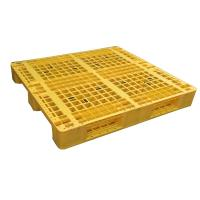 Buy cheap Warehouse Rack Used Single Faced 4-Way Entry Plastic Pallet product