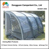 Buy quality Retractable lightweight Pyramid Caravan Awnings 5 Person Tent at wholesale prices