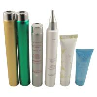 Buy cheap LDPE / MDPE / HDPE / COEX Plastic Cosmetic Packaging Tube , Round 200ml / 6.66oz Cosmetic Squeeze Tubes product
