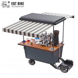 Buy cheap EQT Street Vending Carts OEM Beer Electric Food Cart Metal Frame product