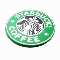 Buy cheap PVC coaster, customized colors and logos are accepted product