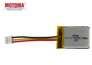 Buy cheap Fleet GPS Tracker Battery 552535 500mah High Temperature 1 Year Shelf Time product