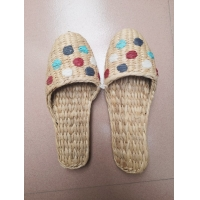 Buy cheap 100% hand woven grass shoes , rush shoes, slipper from wholesalers