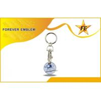 Buy quality Logo Printing / Photo Etched Shopping Trolley Coin Shiny Plating at wholesale prices