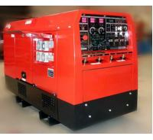 Buy cheap Miller Air cooled Engine Welder Genset Diesel Generator Arc 400amp electrode 6 from wholesalers