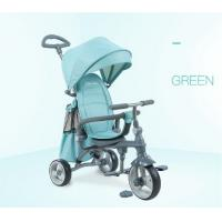 Buy cheap Easy Drag Folding Baby Tricycle Bike High Carbon Steel Frame For Kids product
