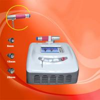 Buy cheap White Shockwave Therapy Machine CE Approval Portable Shockwave Therapy Device product