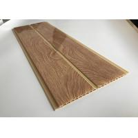 Buy cheap Thick PVC Wood Printing Panels / Damp Proof PVC Interior Wall Panels product