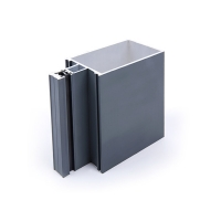 Buy cheap 6000 Series Aluminum Glass Curtain Wall Frame Unitized Curtain Wall Accessories product