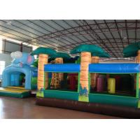 Buy cheap Big Party Custom Made Inflatables 0.55mm Pvc Tarpaulin For Kindergarten Baby product