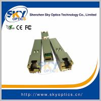Buy cheap 10G Copper SFP 10GBase-T SFP+ Transceiver Module product
