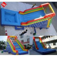 Buy cheap Inflatable Water Slides - Blue product