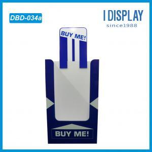 Buy cheap DBD-034 supermarket quilt promotion cardboard dump bin box from wholesalers