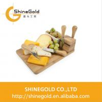 China Wood/bamboo cheese cutting board with tools on sale