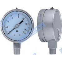 """Buy cheap 4 Inch with 1/2"""" connector bottom welding stainless steel pressure gauge product"""