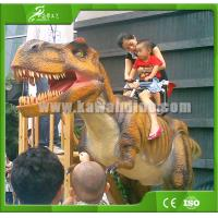 High quality Realistic Animatronic Walking Dinosaur for Kiddie Rides