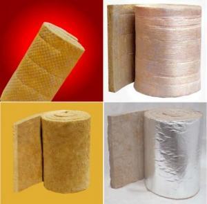 China Rockwool Sound Insulation Refractory Blanket / Cloth Felt / Wire Netting Felt on sale