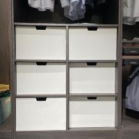 China Luxury OEM Modular Cabinet Accessories Pull Out Wardrobe Closet Drawer for sale