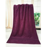 Buy cheap Luxury Bath Towels / Hotel Beach Towels Plain Color Blanket Throw product