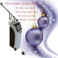 Buy cheap Rf Tube Vaginal Tightening Fractional Co2 Laser Machine 0.1 - 2.6mm Spot Distance product