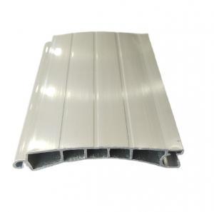 Buy cheap 6000 Series Electrical Roller Shutter Aluminium Door Profiles Round Flat Aluminum Section product