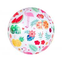 Buy cheap Custom Printed PVC Toy Ball Inflatable Beach Ball Bouncing 18cm - 30cm from wholesalers