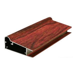 Buy cheap Heat Transfer Windows T8 2.0mm Wood Finish Aluminium Profiles product