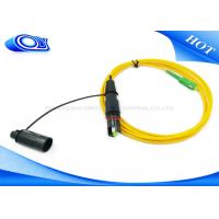 Buy cheap Singlemode 3.0mm 2 Meter Fiber Optic Patch Cord Cable Optitap To SC / APC from wholesalers