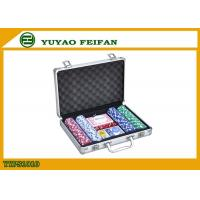 Casino Colored Personalized Poker Chips Sets , Customizable Poker Chips Manufactures