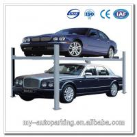 Buy quality 4 Post Car Parking System Double Parking Car Lift Hydraulic Jack at wholesale prices