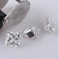 Buy cheap Jewelry Making Diamond Moissanite For Lady Solitaire Ring , Moissanite Loose Stones from wholesalers
