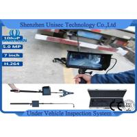 Portable 1080P HD mini Under Vehicle Inspection Camera with IP68 / DVR system