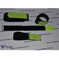 Customized Heavy Duty Hook And Loop Straps Adjustable Metal Buckle Attached