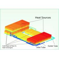 Buy cheap OEM Custom Air to liquid cooling System with cold plate – up to 120 KW product