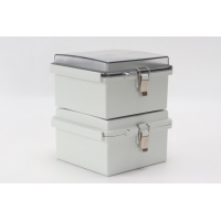 Buy cheap Universal IP67 Hinged Electrical Enclosures Plastic Watertight Junction Boxes product