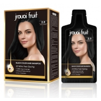 Buy cheap Ammonia Free 5 Mins Become Black 200ml Hair Dye Shampoo from wholesalers