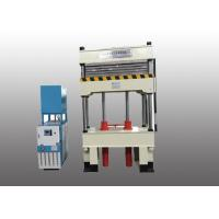 Buy cheap Multi - Layer Hydraulic Vulcanizing Press With Electric Heating Plate product