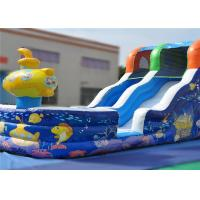 Buy cheap Climbing Crawling Commercial Inflatable Slide Lovely 7x3.5x5m Eye Catcher Attractive product
