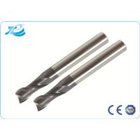 Buy quality 55 Hardness Square End Mill , Two Flute End Mill OEM Service at wholesale prices