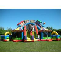 Buy cheap Jumping Bouncy Castle Playground Puncture Proof Children Protective With Obstacle product